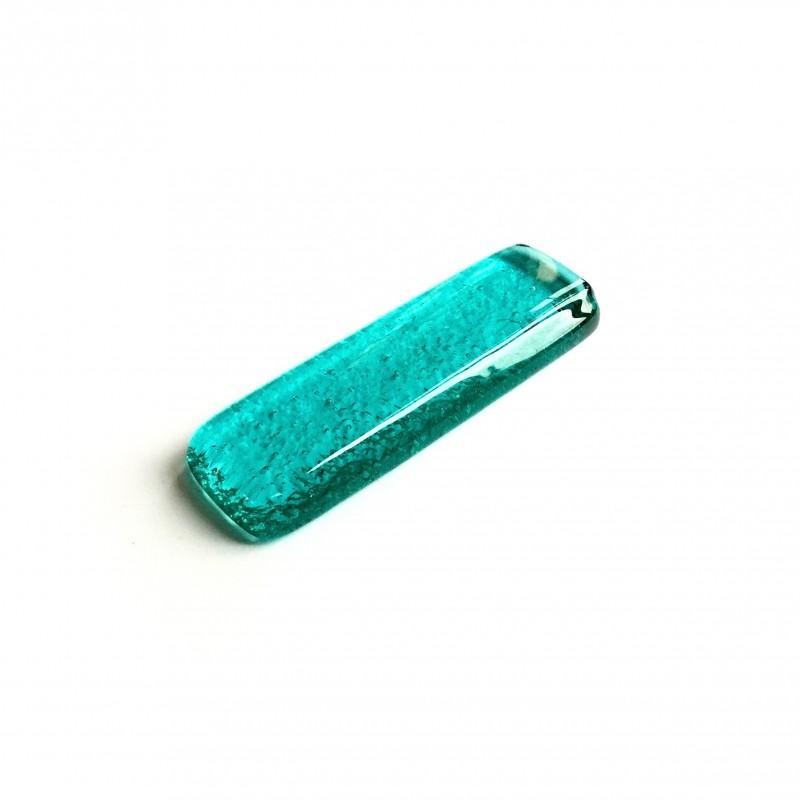 Porte couteau en verre fusing lagon N°11