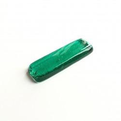 Porte couteau en verre fusing émeraude N°13