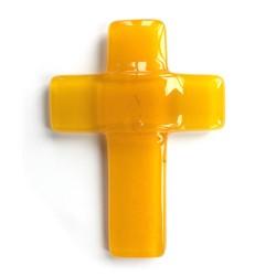 croix auréolée jaune mary gold