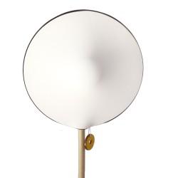 Lampe bambou KALAMEO avec abat-jour GALAXI face coton