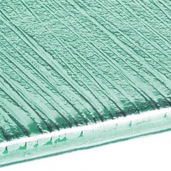 ECHANTILLON de verre vert...