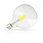 Ampoule LED E25-G125 claire