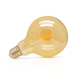 Ampoule LED e27 - G125 golden